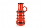 Scheurich Red Layered Floor Vase