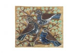 Michael Andersen Birds Wall Plaque 6465