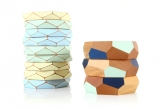 Faceted Bracelets by GH Design