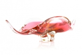 Josef Hospodka for Chribska Pink 'Winged' Bowl