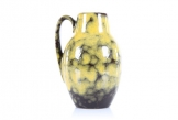 Scheurich Yellow/Black Lava Vase