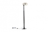 Steel and Enamel Standard Lamp