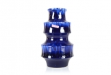 Scheurich Layered Blue Vase