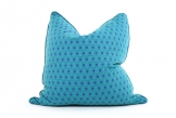 Deluxe 55cm Teal/Violet Hexagon Cushion