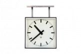 Pragotron Double Sided Czech Railway Clock