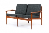 Arne Vodder Teak Sofa for Glostrup