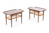 Poul Jensen Side Tables for Selig