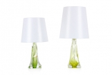 Val St Lambert Table Lamps